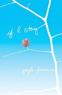 If I Stay.  Beautifully written book.  Loved it and glad I read it before the movie comes out.