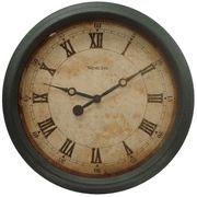 "Westclox 73031 Vintage Simulated Antique 14"" Wall Clock - Wall Clocks - Atomic, Analog, Digital, & Temperature Clocks"