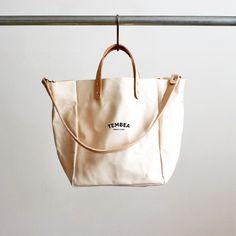 TEMBEA テンベア CLUB TOTE LOGO (クラブトートロゴ) TMB-1555A My Bags, Purses And Bags, Ethnic Bag, Minimalist Bag, Jute Bags, Market Bag, Casual Bags, Vintage Bags, Cloth Bags