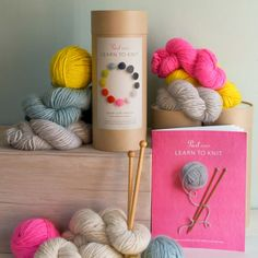 Purl-Soho-Learn-to-Knit-Kit Part of Martha Stewart American Made