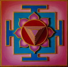 Kali Yantra: the Yantra is a grouping of harmonic symbols, that according to the ancient and somewhat mysterious Hindu tantric beliefs, is focused on during meditation.