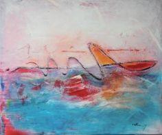 """Saatchi Art Artist Vera Komnig; Painting, """"No. 343"""" #art"""