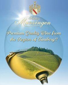 Premium Quality Wine from the Region of Tuniberg!!  #SchlossMunzingen #SchlossMunzingenCanada #nonalcoholic #wine #delicious #lcbo #tuniberg #premium #quality #toronto #ontario