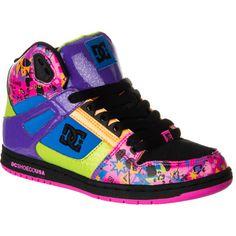 DC Rebound HI SE Skate Shoe - Women's