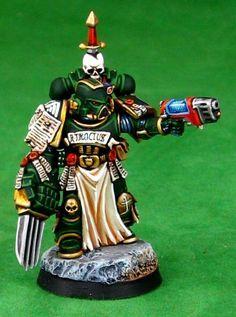 Warhammer 40k Figures, Warhammer Paint, Warhammer Models, Warhammer 40k Miniatures, Warhammer 40000, Warhammer Dark Angels, Dark Angels 40k, Fallen Angels, Miniaturas Warhammer 40k