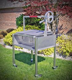 New portable parrilla coming soon. Stainless Steel wood-fired grilling anywhere on your patio or deck. Gaucho, Argentine Grill, Fire Grill, Grill Grates, Timeless Design, Firewood, Grilling, Deck, Patio