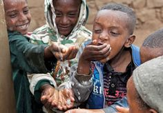Access to #cleanwater can change the lives of #children and families. Click the picture to #givethegiftoflife