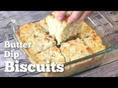 The Country Cook: Butter Dip Buttermilk Biscuits - Jack would add more salt next time. gotta add salt to this recipe. video shows salt write up does not. Easy Homemade Biscuits, Homemade Butter, Buttermilk Biscuits, Country Cooking, Biscuit Recipe, Stick Of Butter, Yummy Food, Tasty, Breakfast Recipes