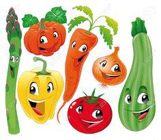 7579629-Familia-de-vegetal-Divertidos-dibujos-animados--Foto-de-archivo.jpg (1300×1133)