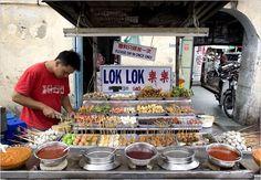 Georgetown, Penang.  Incredible food