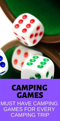 You can't go wrong with these family-friendly camping games that everyone will love! Don't plan your next trip without these fun camping games for families! Get the perfect camping gear for your camping needs Camping Ideas For Couples, Camping Hacks With Kids, Camping 2, Retro Camping, Camping Checklist, Outdoor Camping, Camping Kitchen, Camping Cooking, Camping Stuff