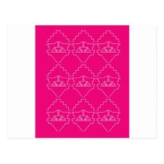 Design elements Pink White Postcard - love cards couple card ideas diy cyo