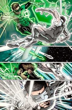 Kyle Rayner vs Hal Jordan