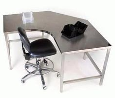 Stainless Steel Desk Google Search