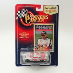 Dale Earnhardt Sr 1:64 Scale 1995 Goodwrench Monte Carlo - NCC223 - Dale Earnhardt Sr 1/64 Scale 1995 Goodwrench Monte Carlo Diecast Race Car.  Hasbro Winner's Circle Lifetime Series. High Performance Die Cast Collectibles FOR SALE