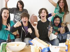 These Super Bowl party games will keep your guests having fun before, during, and long after the game. Included are Super Bowl games for adults and kids. They're not lame - the guests will love them and they use stuff you already have on hand.