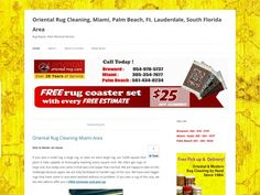 Oriental Rug Cleaning, Miami, Palm Beach, Ft. Lauderdale, South Florida Area