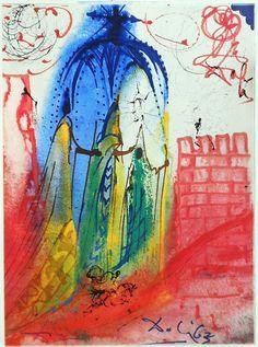 Salvador Dalí's Rare 1975 Illustrations for Romeo & Juliet | Brain Pickings
