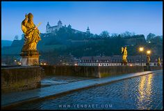 wurzburg germany | Würzburg - St. Kilian and his Companions at the Old Bridge | Flickr ...