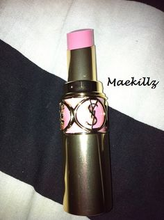 YSL Lipstick in Lingerie Pink