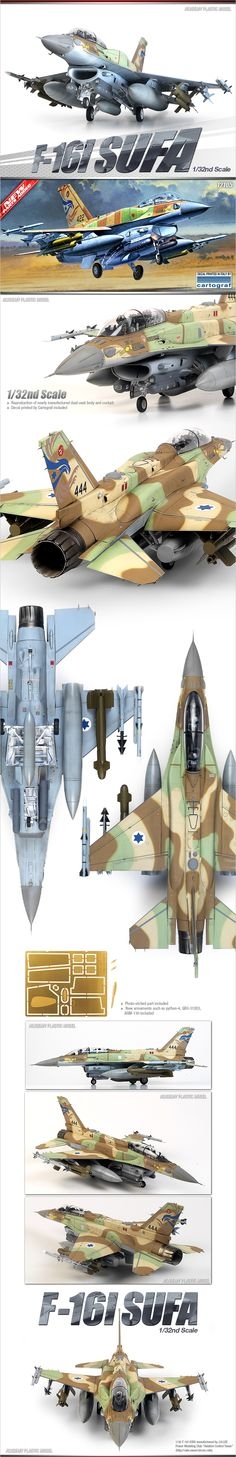 F-16 I Sufa Academy Model Scale 1:32