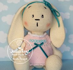 Little Teddy Bear crochet pattern hand made by Monika Miszczuk