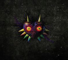 Majoras mask! Love the legend of Zelda games :3! Makes me feel like a child again!