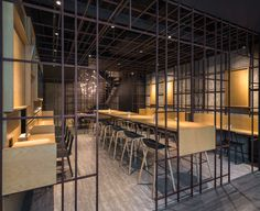 Gallery of Noodle Diner Sanlitun SOHO / Lukstudio - 8