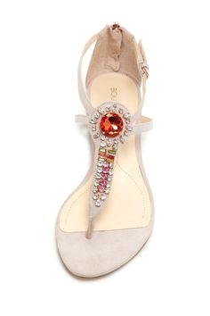 Embellished Sandals with the perfect amount of bling.