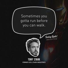 Startup Citat Anniversary Edition # 1: Tony Stark