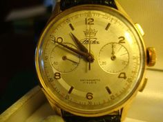 Rare and wonderfull chronograph made in Torino at '50