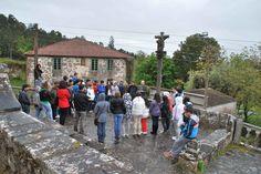Estudantes no Roteiro Batalla Cacheiras - Teo - Maio 2012
