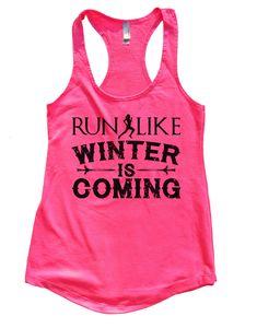 More Mile Heather Girls Training Vest Blue Stylish Junior Running Sport Tank Top