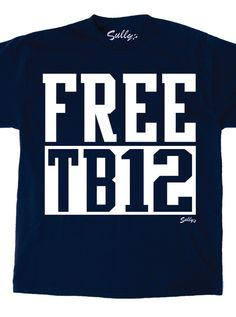 FREE TB12 T-Shirt Sorry, all we have left is size SMALL on this one!