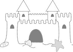 Beach Drawings Art | Sand Castle clip art - vector clip art online, royalty free & public ...