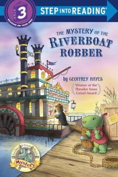 Is a robber loose in Boogle Bay? Otto the alligator investigates in this funny, high-spirited Otto & Uncle Tooth Mystery for early readers by Geoffrey Hayes, winner of the Theodor Seuss Geisel Award. Otto wants to be a hero like Uncle Tooth, so he follows the shady figure who is skulking around the riverboat docked in the harbor. Readers young and old will enjoy this madcap adventure full of silly disguises and mistaken identity.