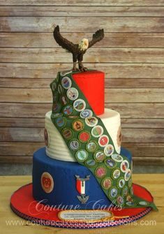Congratulations to Dorian for the awesome achievement of Eagle Scout. This was a really fun Eagle Scout Cake to create. Scout Mom, Cub Scouts, Girl Scouts, Eagle Scout Cake, Eagle Scout Gifts, Eagle Scout Project Ideas, Boy Scouts Merit Badges, Eagle Scout Ceremony, Eagle Emblems