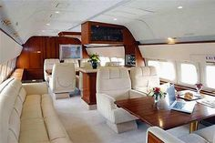 Boeing Business Jet 2 interior When you're chairman of a Fortune Global 500 co. Boeing Business Jet 2 interior When you're chairman of a Fortune Glo