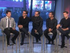 NKOTB:  Fans are multigenerational now.  I always liked the early boy bands like New Kids On The Block and The Backstreet Boys.