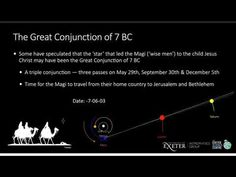 The Great Conjunction of 7 BC - YouTube