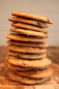 Ifound this recipeon Shawni's  blog, tried it and loved it. It makes LOTS of cookies, which for our family is essential.  3 sticks of bu...