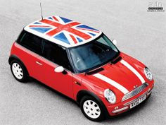 british flag mini cooper