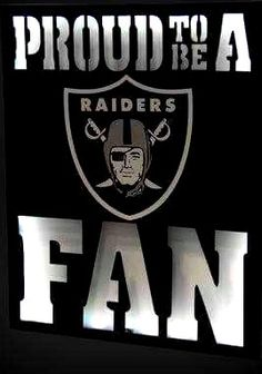 Let all your guests know you're proud to be a Oakland Raiders fan with this LED Metal Wall dcor. This wall art is a great way to show off your team fandom! With eye-catching LED backlight, you'll be basking in the warm glow of your Oakland Raiders dedicat Raiders Baby, Raiders Football, Oakland Raiders Fans, Raider Nation, Metal Wall Decor, Picture Design, Buick Logo, Juventus Logo, American Football