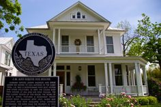 Nix House in King William Historic District, San Antonio, Texas