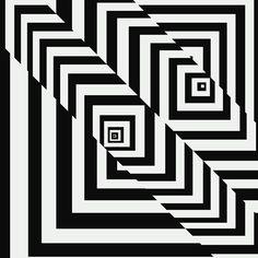 Psychedelic diagonal lines #art