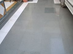 Kota stone can also be used for the parking area