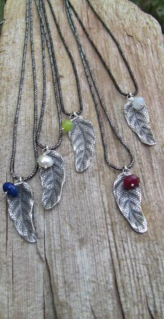 Leaf Jewelry, Pendant Jewelry, Pendant Necklace, Unique Jewelry, Leaf Necklace, My Etsy Shop, Pendants, Sterling Silver, Trending Outfits