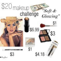 soft $20 Makeup Challenge