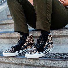 Take a walk on the wild side. Design your own pair of Vans with new prints.