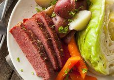 Corned Beef, Cabbage and Potatoes - A Fresh Take Cabbage Stew, Cabbage And Potatoes, Corn Beef And Cabbage, Cabbage Recipes, Roasted Cabbage, Slow Cooker Corned Beef, Corned Beef Recipes, Easy Beef Brisket Recipe, Irish Recipes